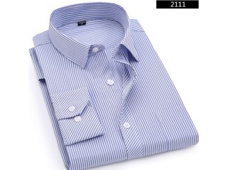 Casual Long Sleeved Shirt Classic Striped Shirts