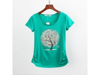 Summer Clothing Short-sleeve T-shirt Female Casual Tops
