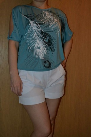 summer-women-feather-printed-t-shirts-big-1
