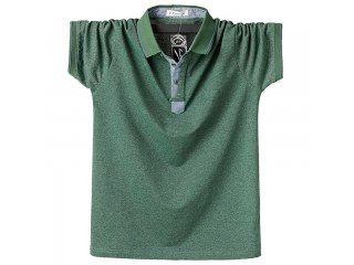 Summer Polo Shirt Classic Solid Polo