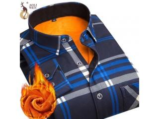 Fashion Men Slim Shirts Male Social Shirt