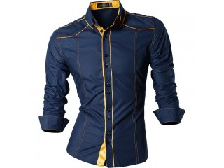 Features Shirts Men Casual Jeans Shirt Male Shirts