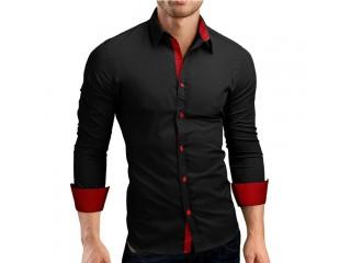 Men Casual Shirt Long Sleeve Shirts