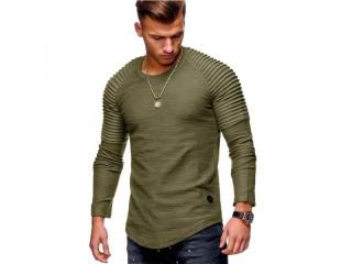 Long Sleeve T Shirt Casual Men T-Shirt Fashion Tops
