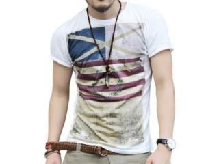 Men's Summer Tops Tees Short Sleeve T shirt