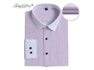 Men Long Sleeved Shirt Fashion Causal Dress