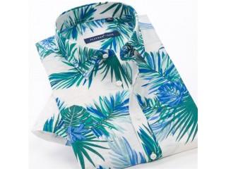 Men Summer Lightweight Loose Shirt