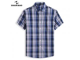 Cotton Plaid Casual Loose Shirt