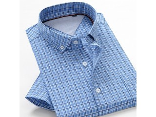 Summer Clothing Classic Plaid Shirt