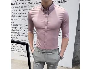 Half Sleeve Shirts Mens Dress