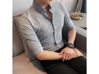 British Summer Dark Stripes Shirts