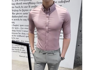 Half Sleeve Shsirts Mens Dres