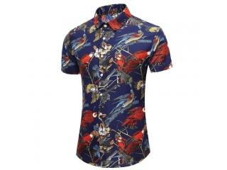 Fashion Short Sleeve Hawaiian Shirt