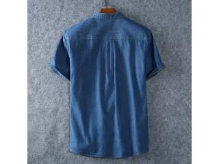 100% Denim Cotton Shirt Fashion Dress