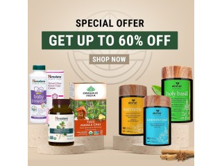 Special Offer Up to 60% off