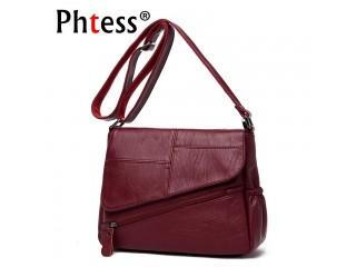 Female Messenger Bags Feminina Bolsa Leather