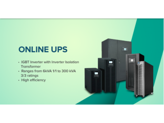 Industrial Online UPS & 3 Phase UPS – India's No.1 Brand - KRYKARD
