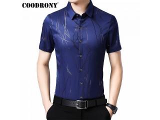 Men Shirt Fashion Striped Shirt