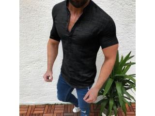Linen Shirts Fashion Hawaiian Shirts