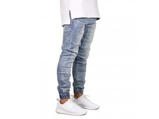 Fashion Stretch Men Jeans Denim Joggers Pant