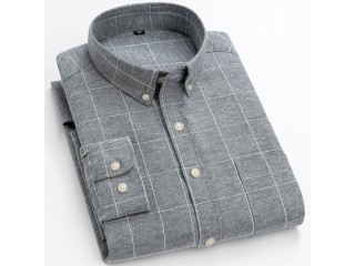 Plaid Striped Fashion Leisure Shirt