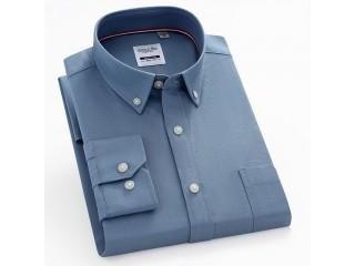 100% Cotton Oxford Casual Shirt