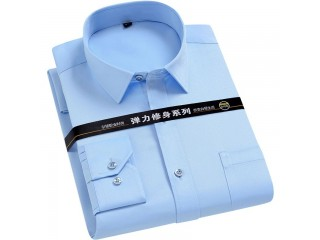 Men Basic Business Dress Shirt