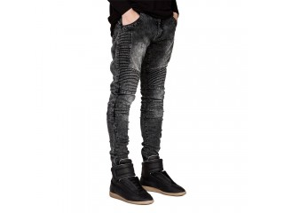 Slim Biker Jeans Fashion Hip Hop Skinny Jeans