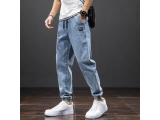 Spring Cargo Jeans Denim Joggers
