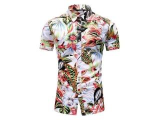 Korea Design Hawaii Beach Shirt