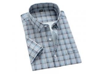 Fashion Plaid Print Casual Shirts