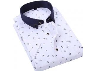 Fashion Men Printed Light Shirt