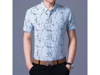 Summer Geometric Shirts Short Sleeve
