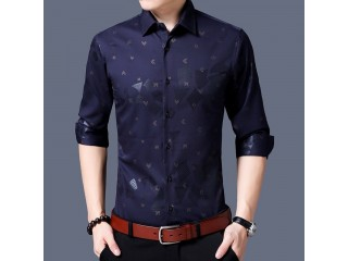 Luxury Business Casual Mens Shirts