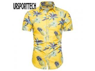 Summer Fashion Floral Print Shirt