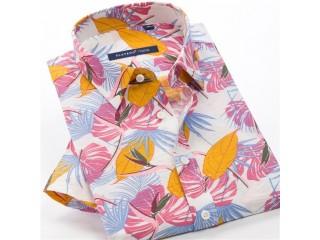 Summer Print Fashion Beach Shirt
