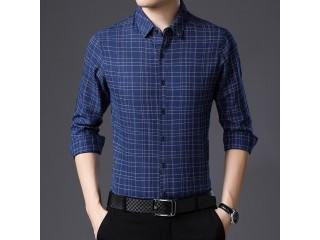 Men Business Formal Regular Shirt