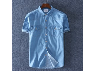 100% Cotton Denim Fashion Shirt