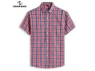 Summer Classic Brand Plaid Shirt