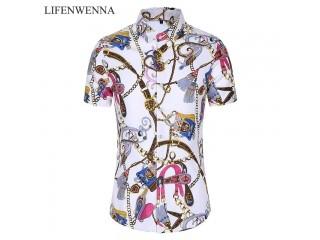 Casuals Shirt Men Summer Dress