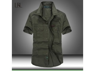 Summer Tactical Cotton Combat Shirt