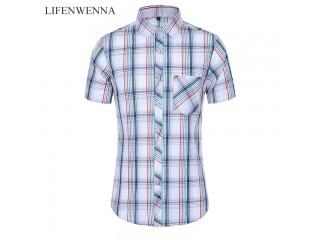 Fashion Plaid Summer Casual Shirts