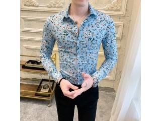 Fashion Floral Shirt Casual Streetwear