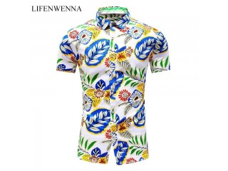 Fashion Printed Short Sleeve Shirts