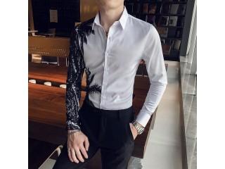 Spring Club Tuxedo Printed Shirts