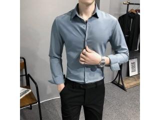 Men Business Formal Dress Shirt