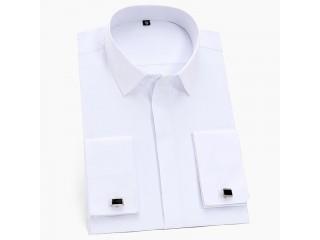 France Cufflinks Business Tuxedo Shirts
