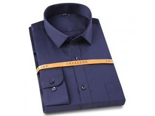 Men Classic Vertical Striped Shirt