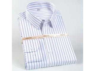 Classic Long Sleeve Striped Shirts