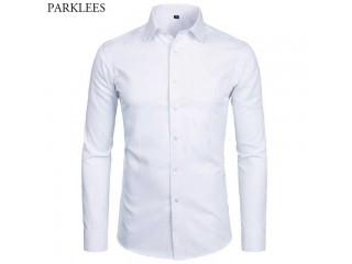 Men Fashion Long Sleeve Shirt